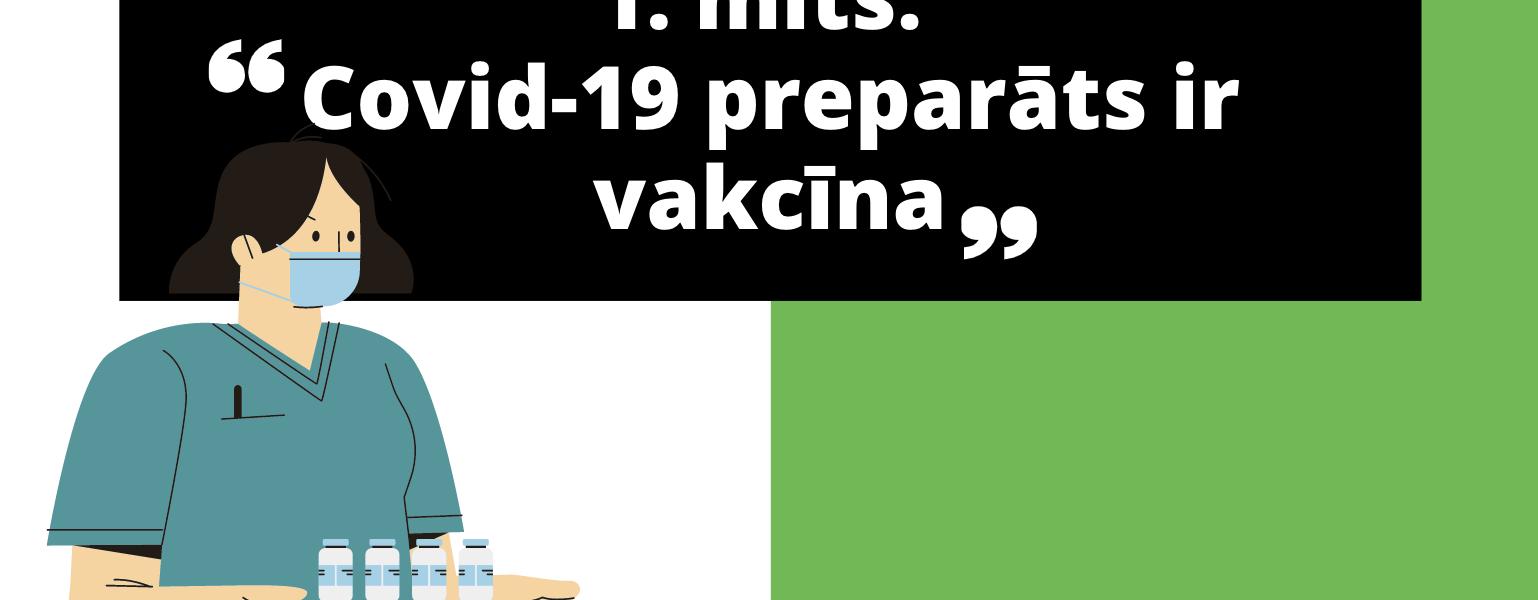 covid vakcinu miti